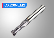 2-Flute Square End Mill CX200-EM2(S)